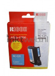 Ricoh Type RC-C21 cyaan 402279