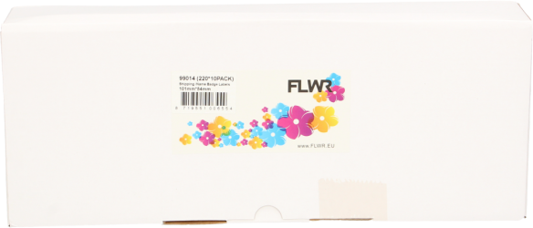FLWR Dymo 99014 10-Pack wit