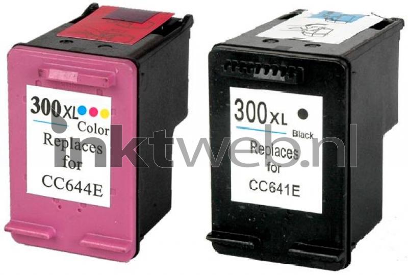 HP 300XL Multipack zwart en kleur (Remanufactured ...