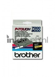 Brother TX-611 zwart TX611