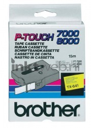 Brother TX-641 zwart TX641
