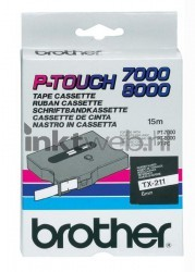 Brother TX-211 zwart TX211