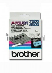 Brother TX-531 zwart TX531
