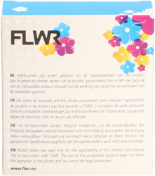 FLWR Brother TZE-231 zwart FLWR-FT-F231