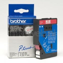 Brother TC-202 rood TC202