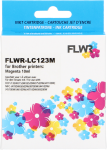 FLWR Brother LC-123 magenta