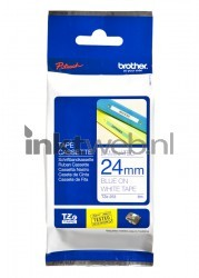 Brother TZE-253 blauw TZE253