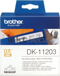 Brother DK-11203 wit