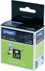Dymo 11353 Multifunctionele etiketten wit