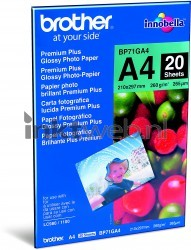 Brother BP71GA4 Glossy fotopapier wit BP71GA4