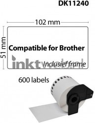 Brother DK-11240 wit CO-DK-11240