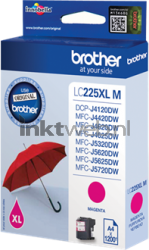 Brother LC-225XLM magenta LC225XLM