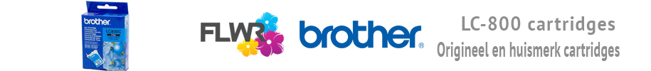 Brother LC-800 cartridge kopen