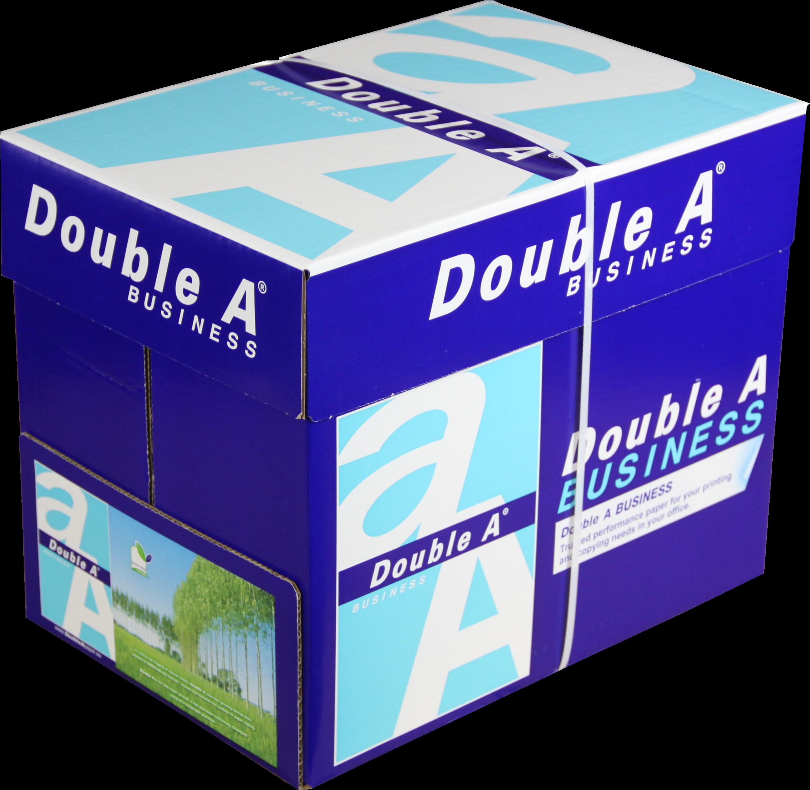 Double A Business A4 Papier 5 pakken (75 grams) wit