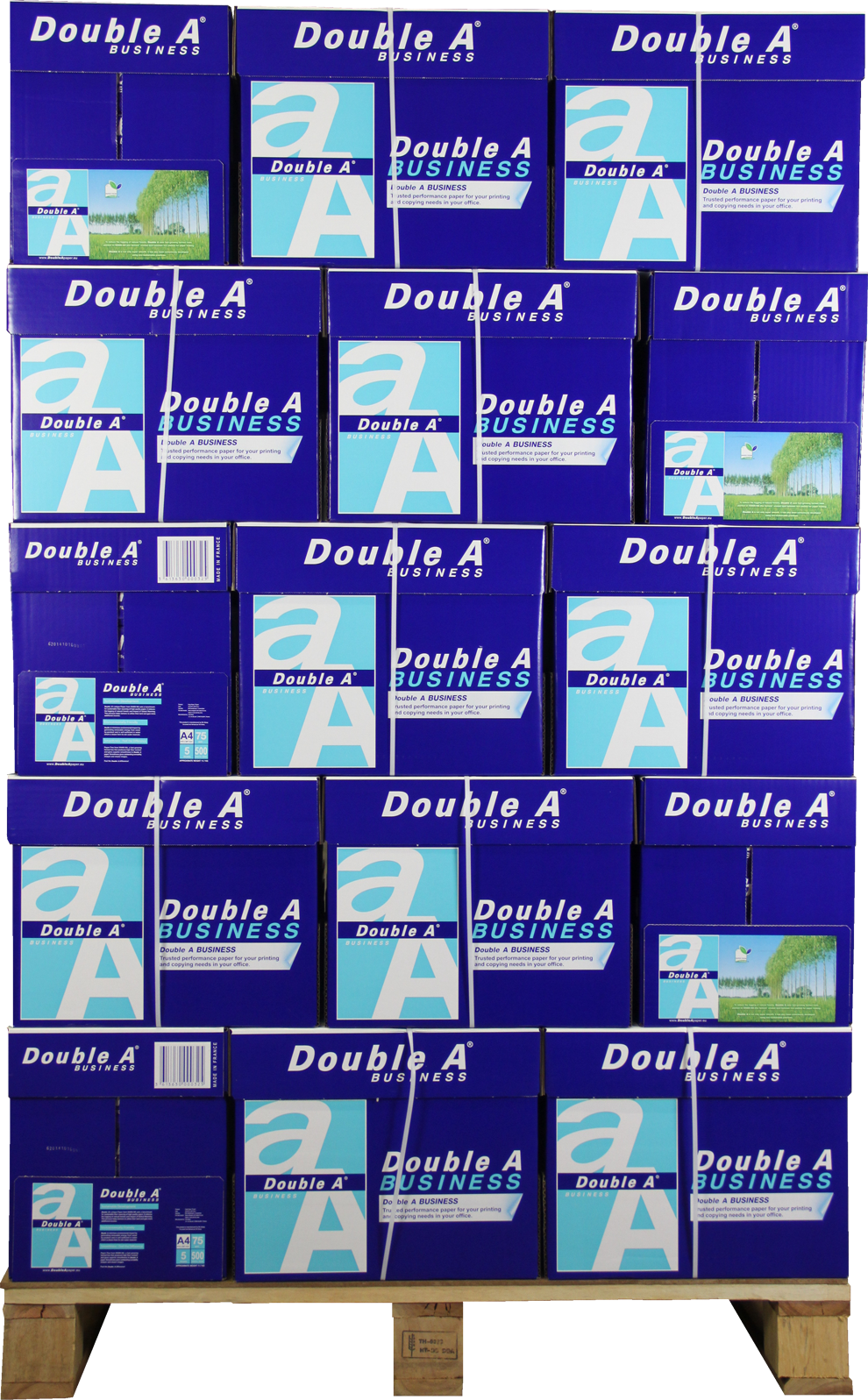 Double A Business A4 Papier 200 pakken (75 grams) wit