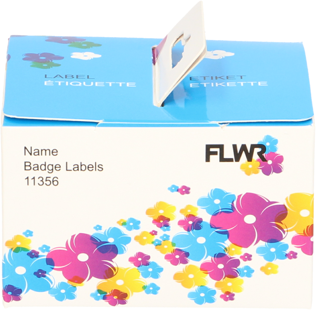 FLWR Dymo  11356 naambadges 89 mm x 41 mm  wit