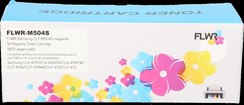 FLWR Samsung CLT-M504S magenta
