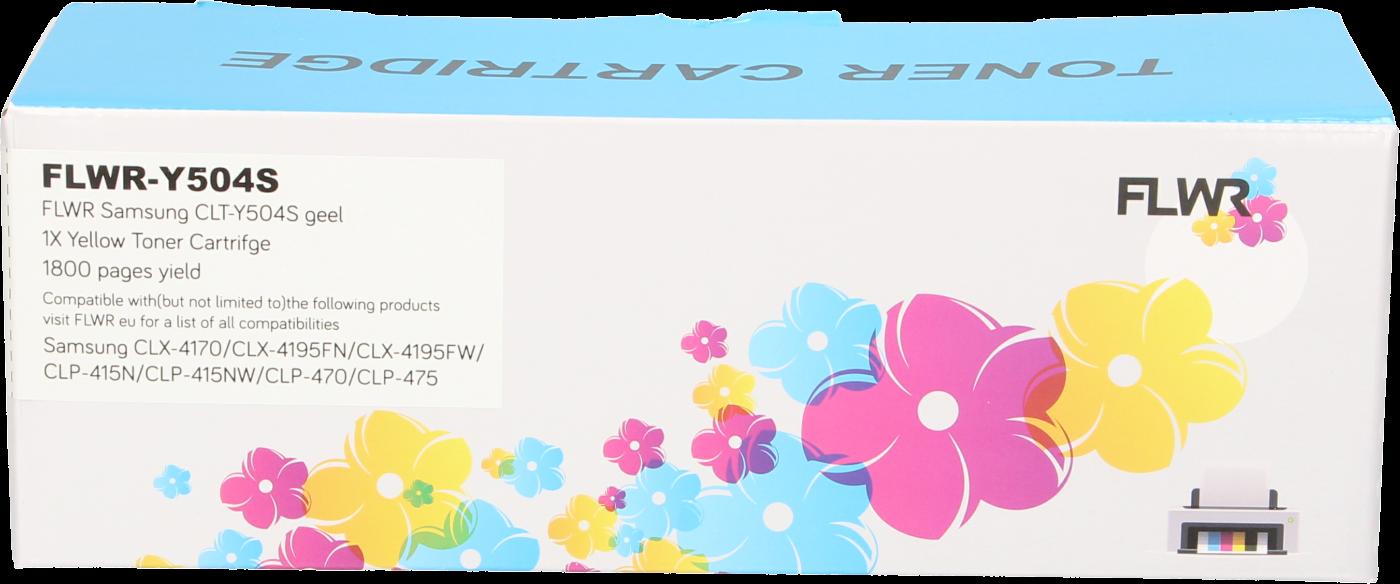 FLWR Samsung CLT-Y504S geel