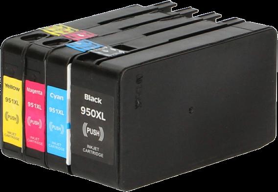 HP 950XL / 951XL 4-pack zwart en kleur