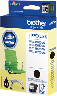 Brother LC-229XLBK zwart