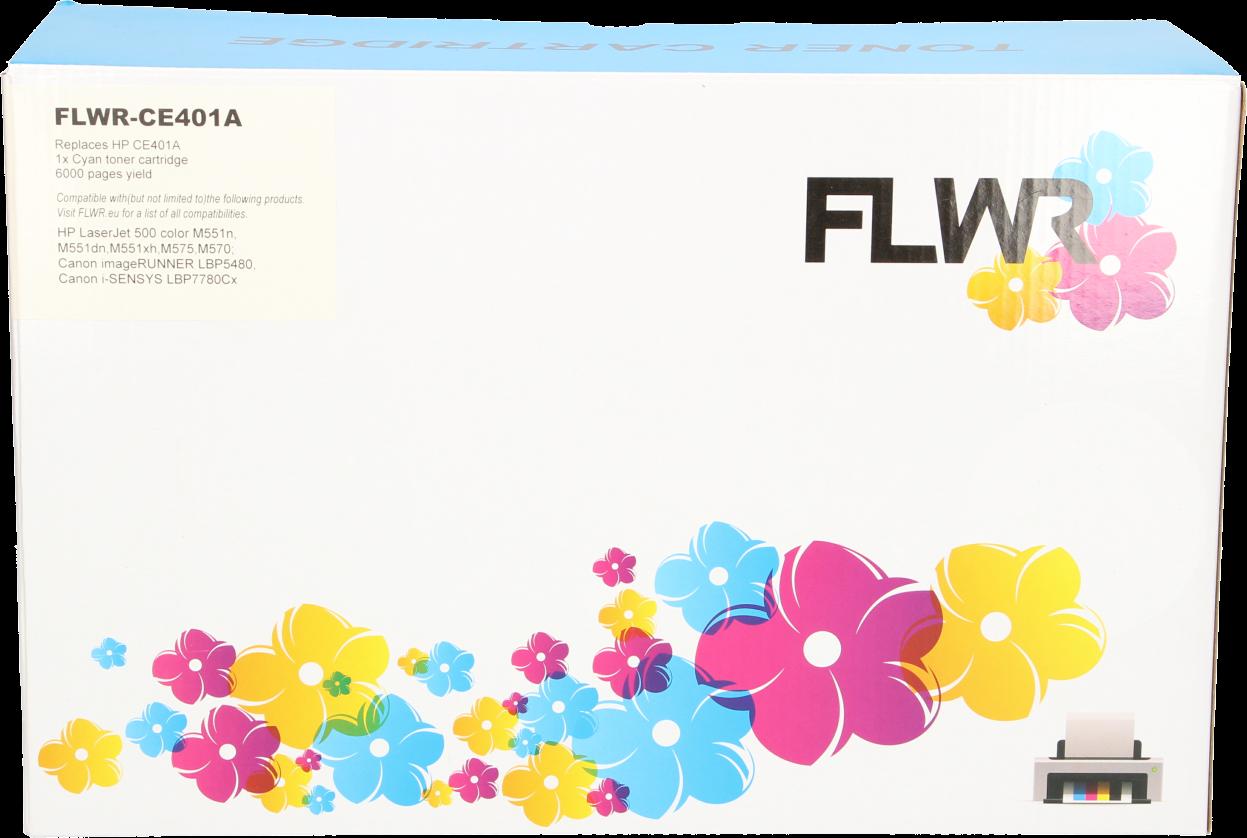 FLWR HP 507A cyaan