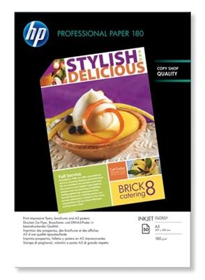 HP Professional inkjetpapier A3 glanzend wit