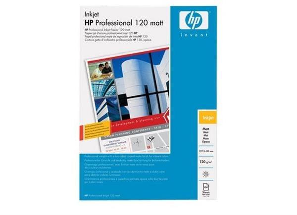 HP Professional inkjetpapier mat wit