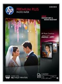 HP Premium Plus glanzend wit