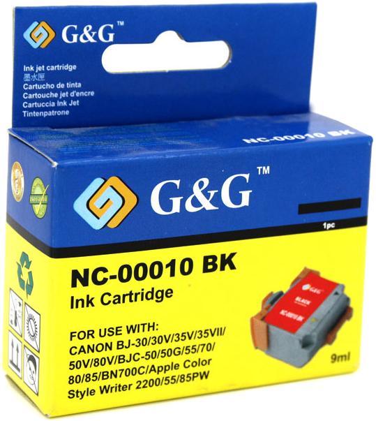 Huismerk Canon BCI-10BK zwart