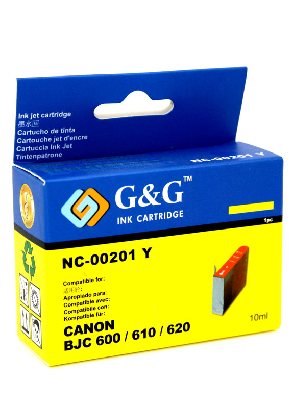Huismerk Canon BJI-201Y geel