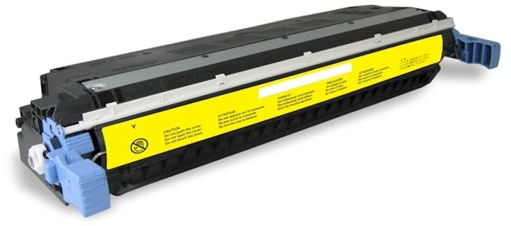 Huismerk HP 645A geel