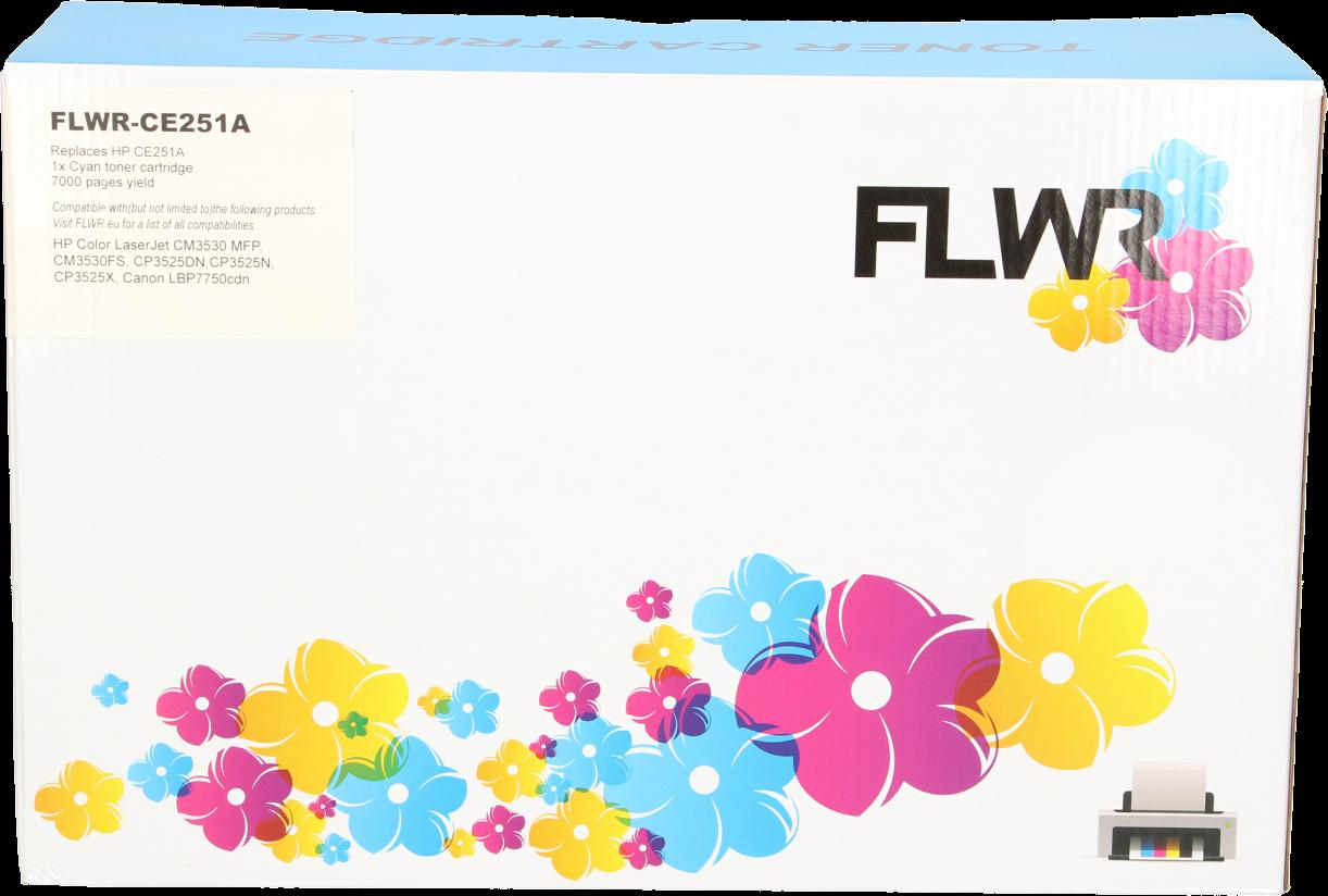 FLWR HP 504A cyaan