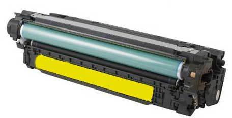 Huismerk HP 648A geel