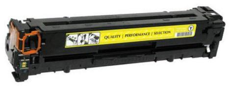 Huismerk HP 654A geel