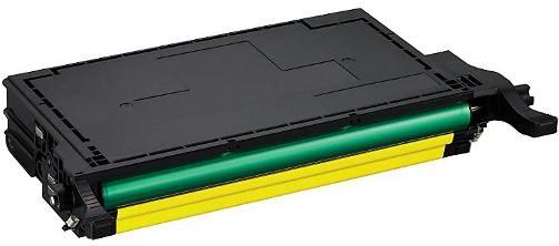 Huismerk Samsung CLP-Y660B geel