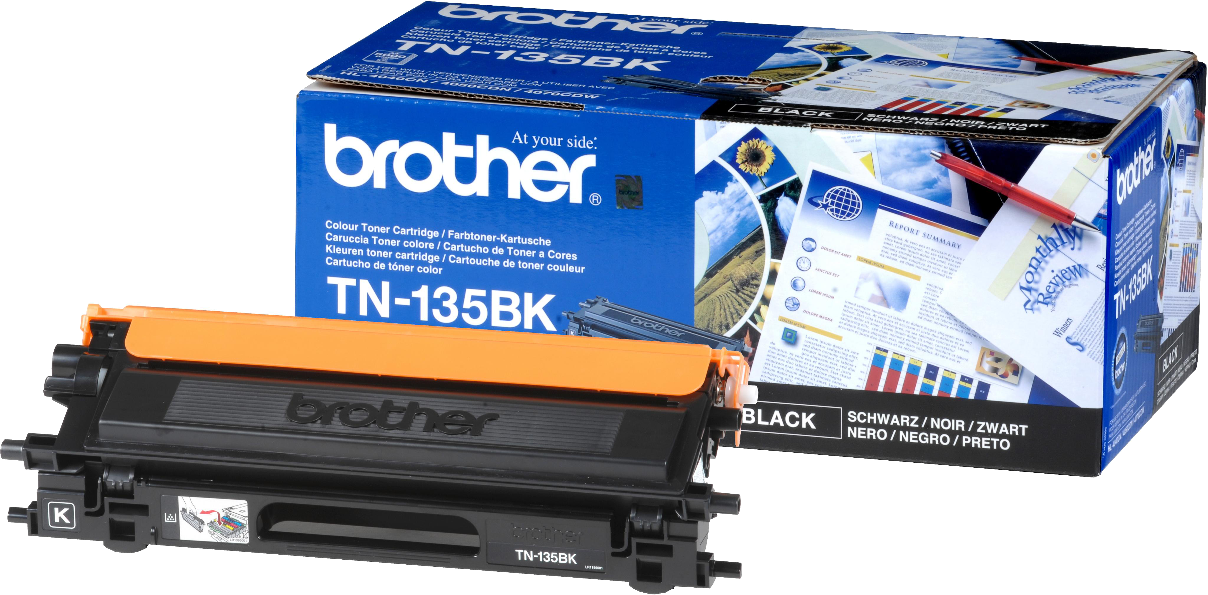 Brother TN-135BK zwart
