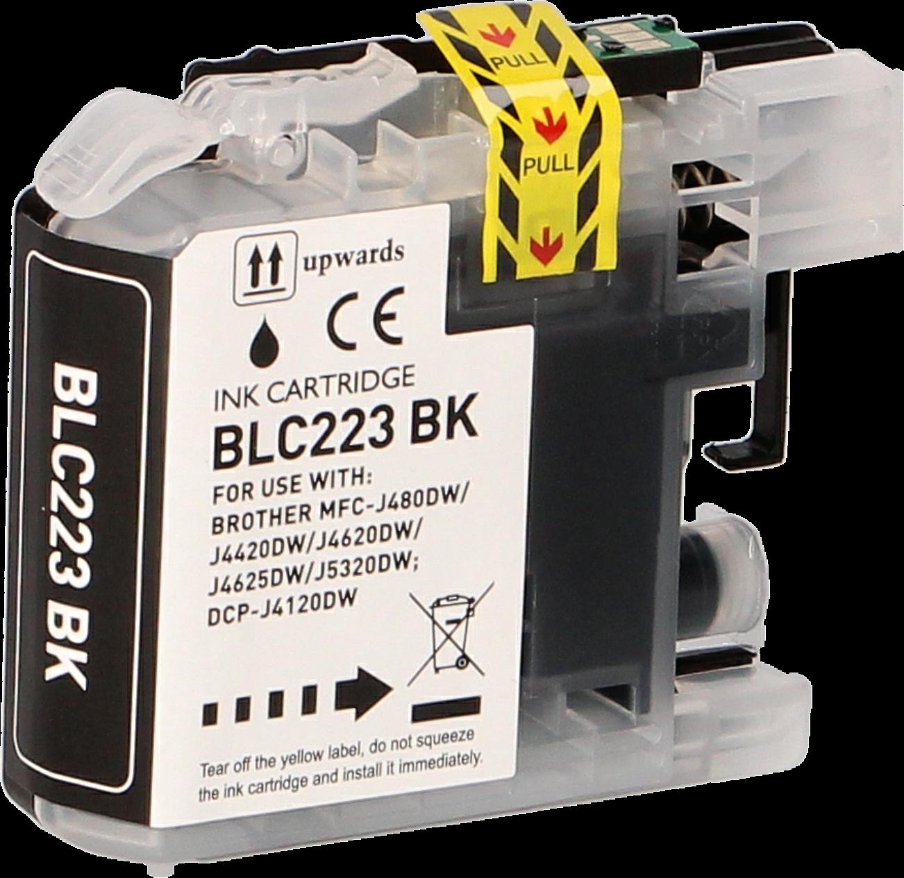 Brother LC-223BK zwart
