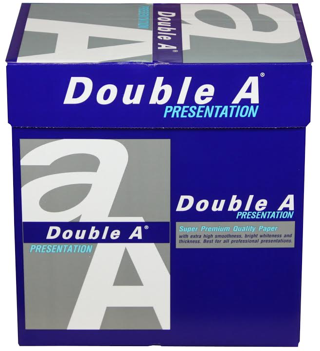 Double A Presentation A4 Papier 5 pakken (100 grams) wit
