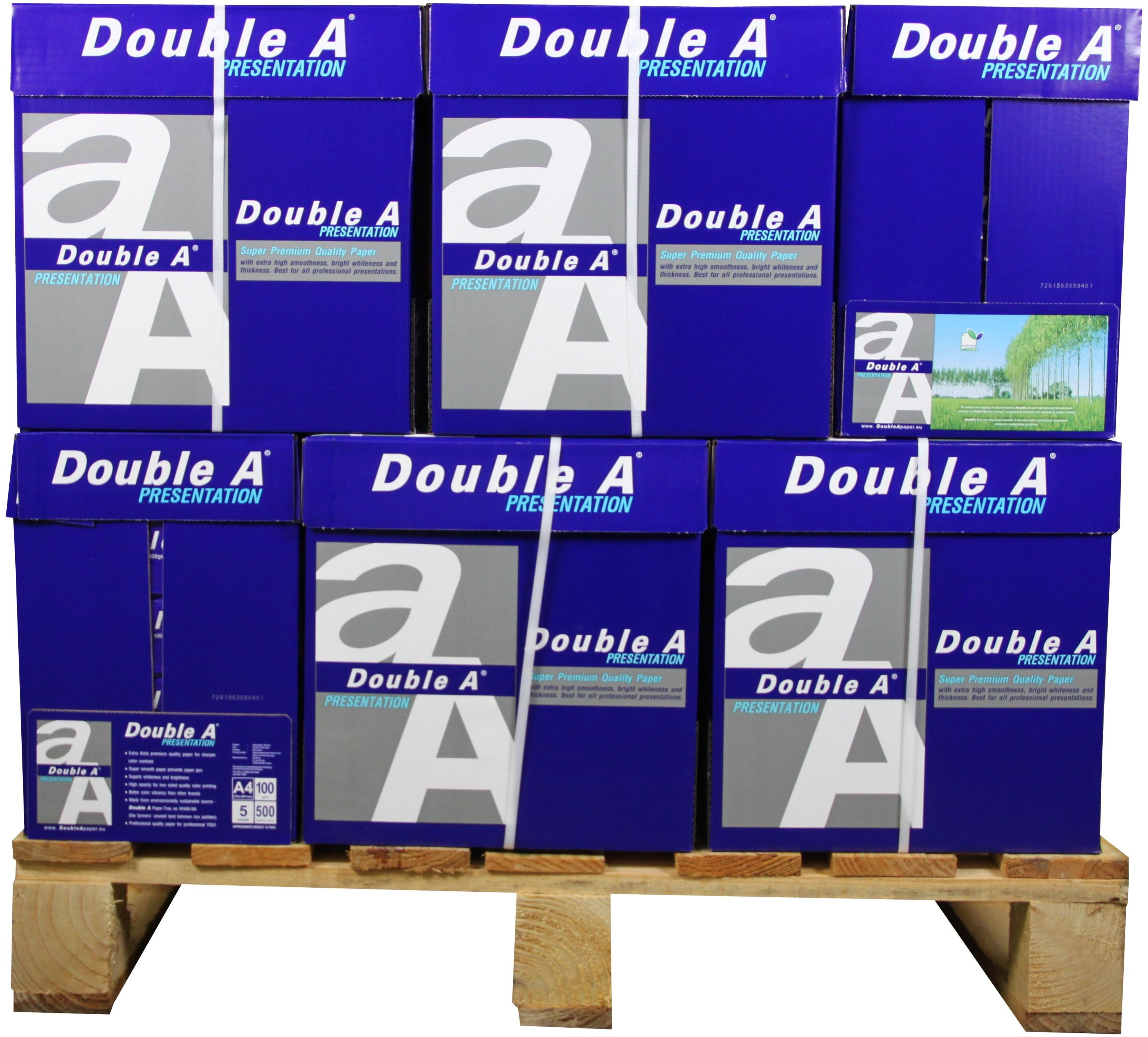 Double A Presentation A4 Papier 80 pakken (100 grams) wit