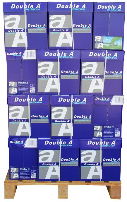 Double A Presentation A4 Papier 160 pakken (100 grams) wit