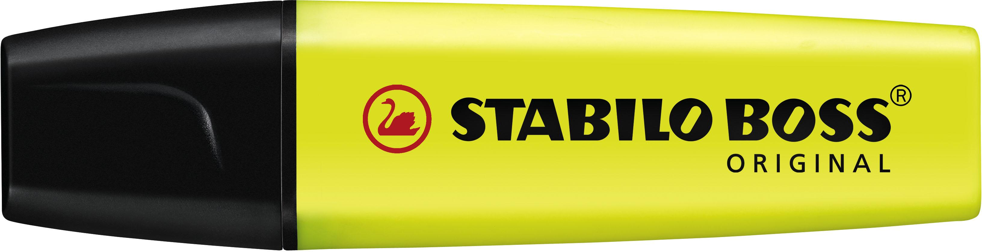 Stabilo Markeerstift BOSS geel