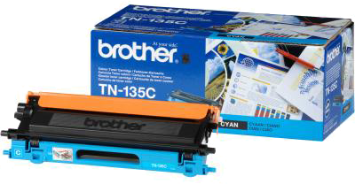 Brother TN-135C cyaan