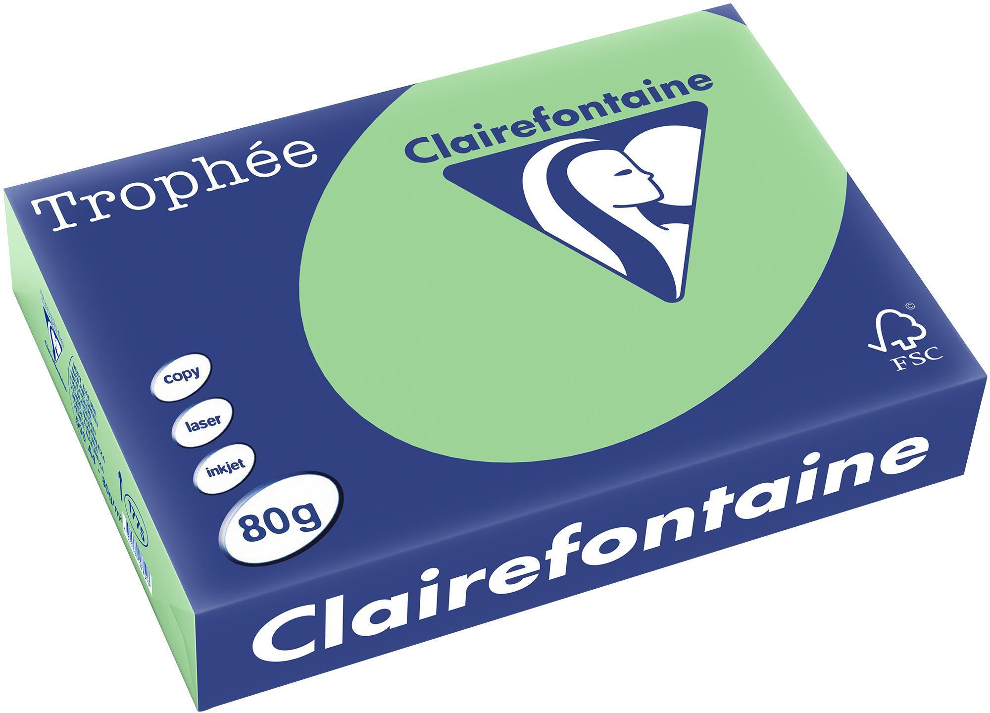 Clairefontaine A4 papier gekleurd Natuurgroen