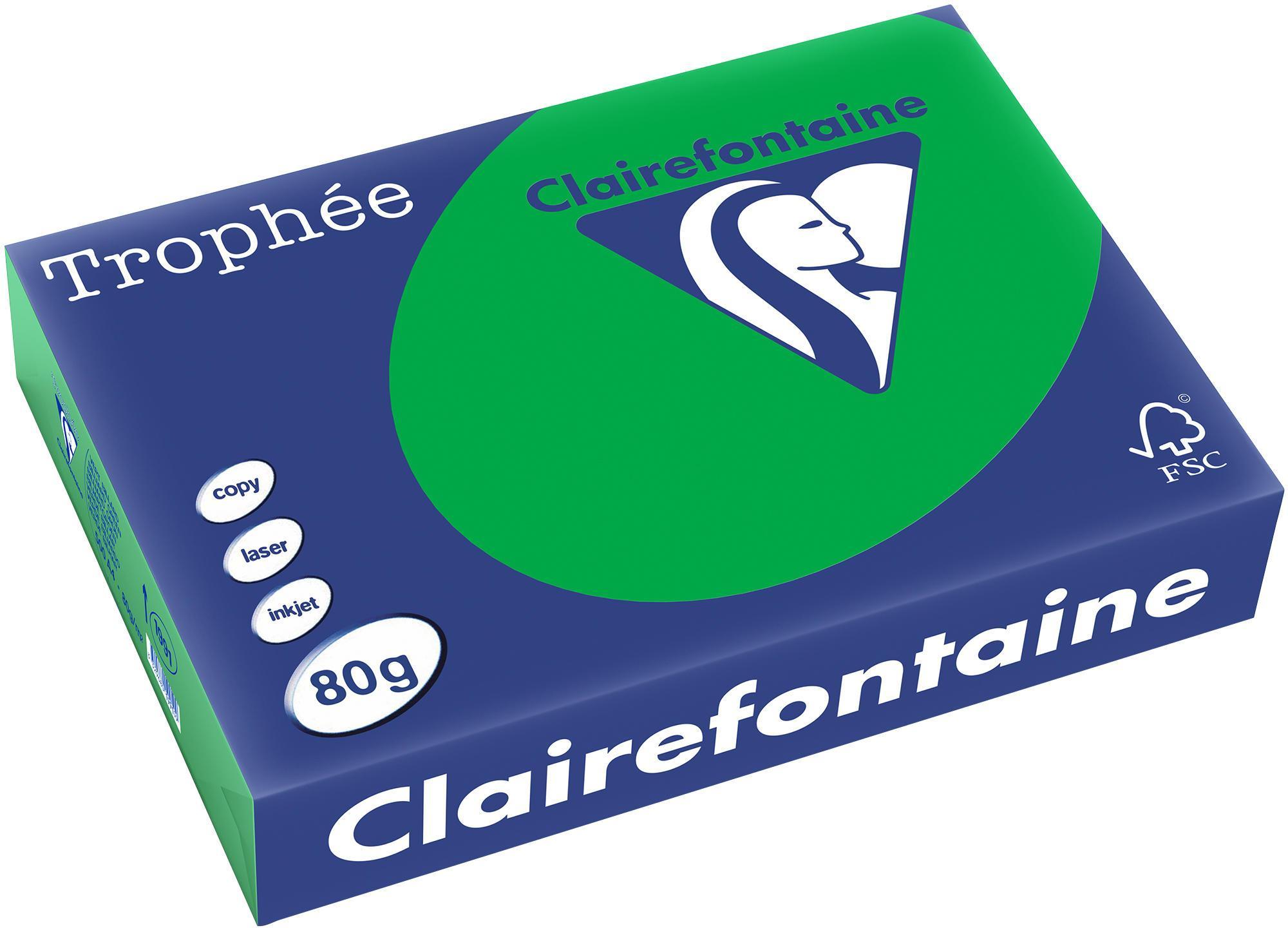 Clairefontaine A4 papier gekleurd Biljartgroen
