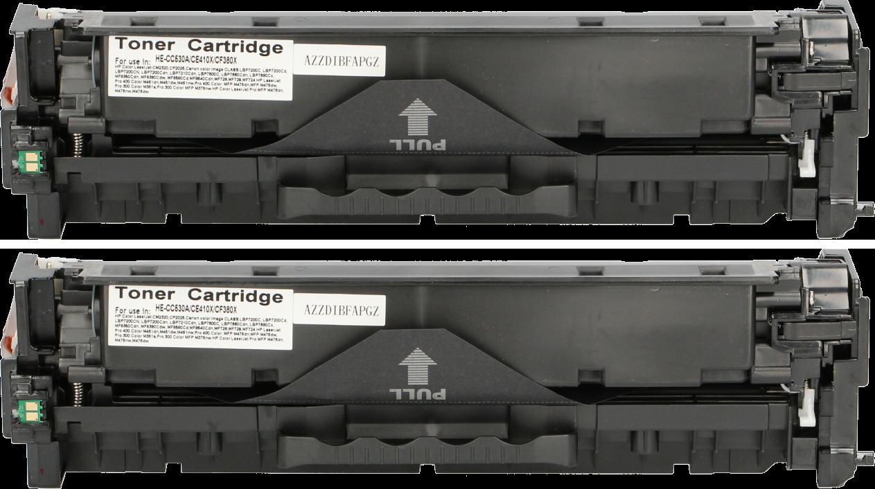 FLWR HP 304AD 2 pack zwart