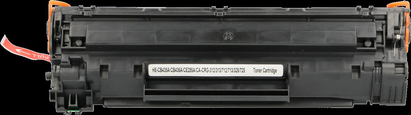 FLWR HP 85AD / CRG-725 twinpack zwart