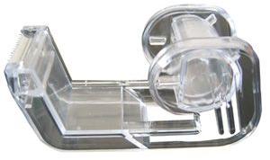 Corona Plakbandhouder, transparant