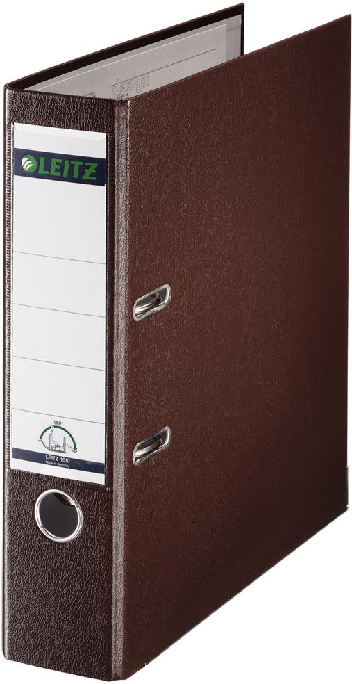 LEITZ Ordner breed 80mm bruin