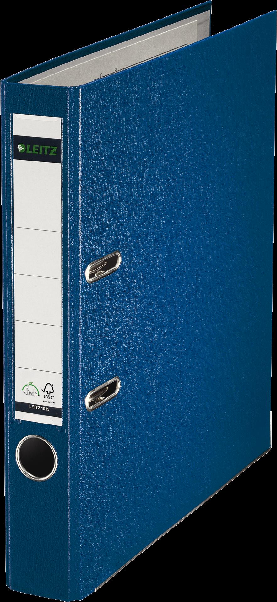 LEITZ Ordner smal 50mm blauw