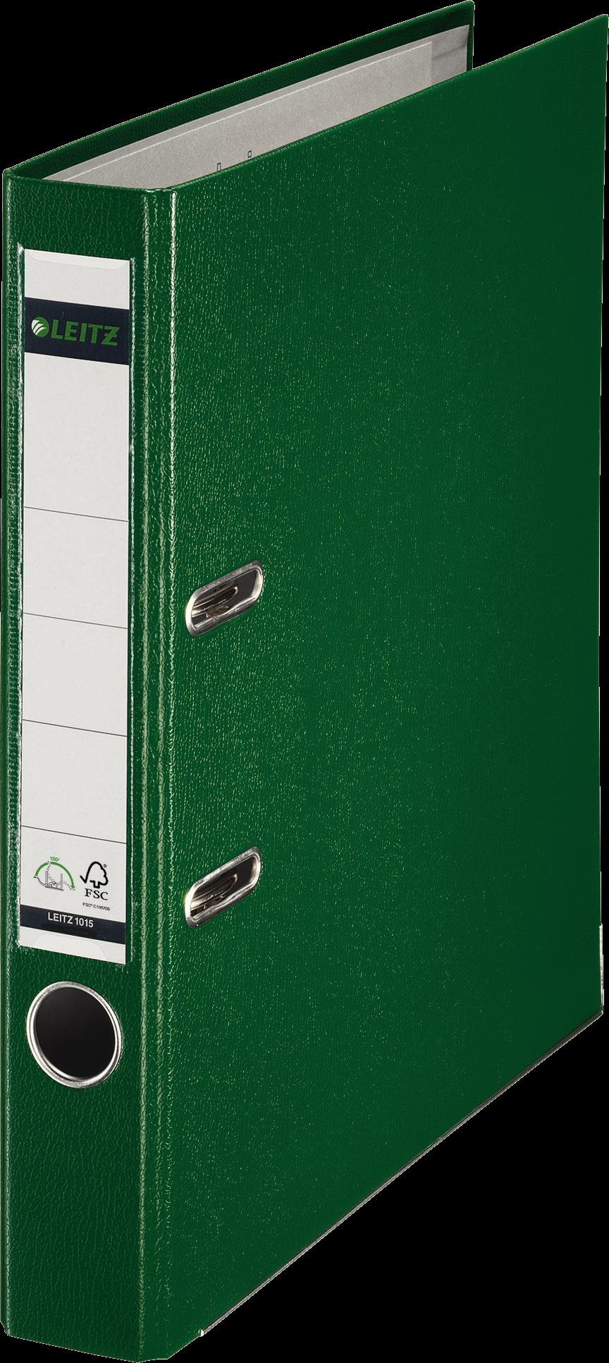 LEITZ Ordner smal 50mm groen